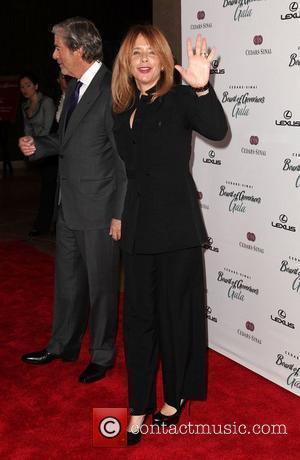 Rosanna Arquette and Beverly Hilton Hotel