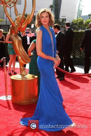 Brenda Strong 2011 Primetime Creative Arts Emmy Awards - arrivals Held at The Nokia Theatre L.A. Live Los Angeles, California...