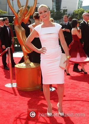 Julia Stiles 2011 Primetime Creative Arts Emmy Awards - arrivals Held at The Nokia Theatre L.A. Live Los Angeles, California...