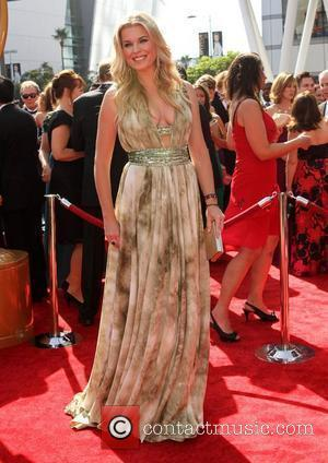 Rebecca Romijn 2011 Primetime Creative Arts Emmy Awards - arrivals Held at The Nokia Theatre L.A. Live Los Angeles, California...
