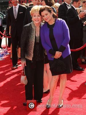 Debbie Reynolds, Carrie Fisher and Emmy Awards