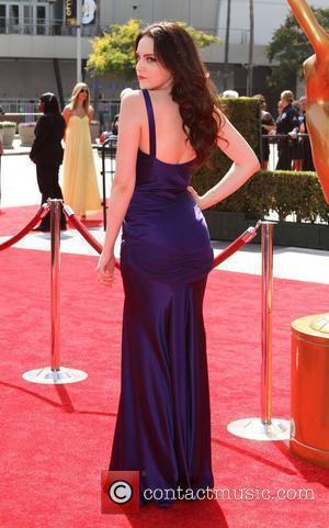Elizabeth Gillies 2011 Primetime Creative Arts Emmy Awards Held at The Nokia Theatre L.A. Live Los Angeles, California - 10.09.11