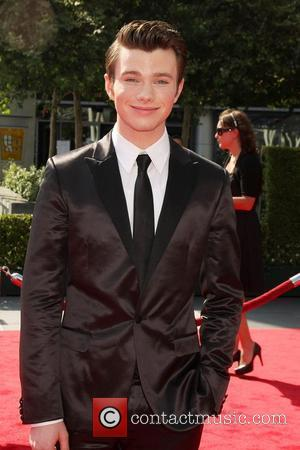 Chris Colfer and Emmy Awards