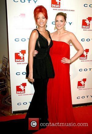 Rihanna and Katharina Harf