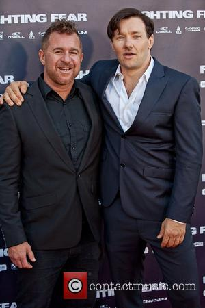 Joel Edgerton and Sonny Abberton The World Premiere of 'Fighting Fear' held at Hoyts Cinema at the Entertainment Quarter Sydney,...