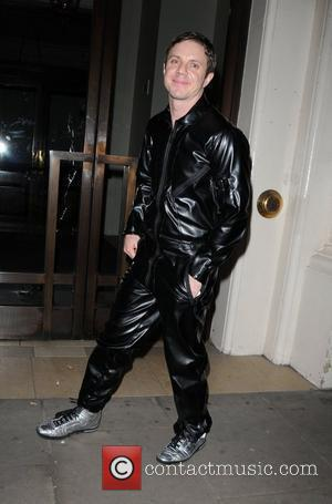 Jake Shears of The Scissor Sisters   leaving the George Michael Charity Performance at The Royal Opera House for...