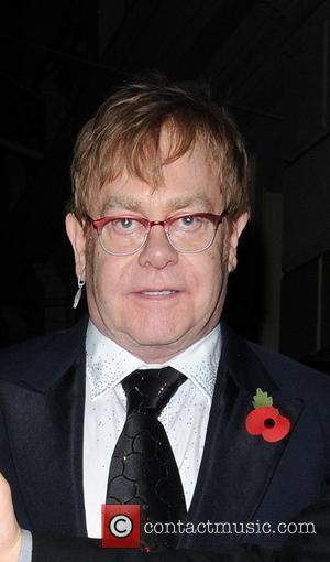 Sir Elton Wrapping Christmas And Son's Birthday Into One Big Bash