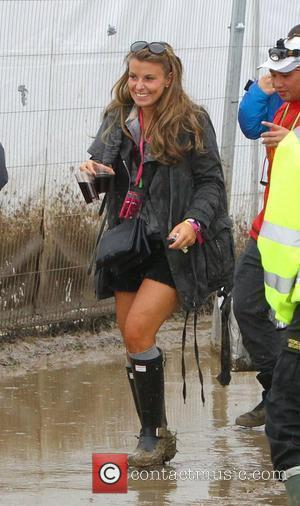 Coleen Rooney  Celebrities at The 2011 Glastonbury Music Festival held at Worthy Farm in Pilton - Day 1...