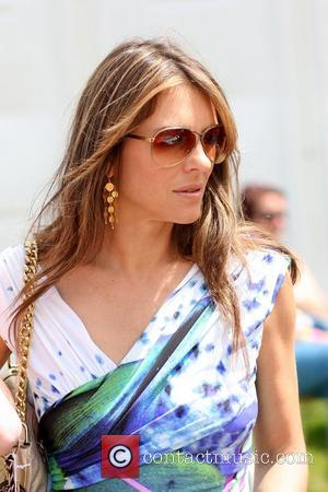 Elizabeth Hurley attends the Goodwood Festival of Speed - Day 1 at Goodwood Race Track Surrey, England - 01.07.11