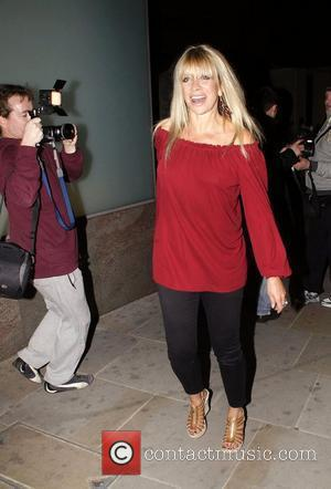 Jo Wood  leaving the Gumball 3000 launch party at the Playboy Club London, England - 25.05.11