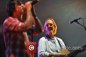 Mike Rutherford and Tim Howar of Mike and The Mechanics at the Hard Rock Calling held at Hyde Park -...