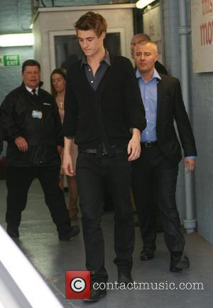 Max Irons   outside the ITV studios after appearing on This Morning  London, England - 08.04.11