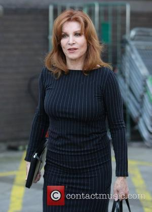 Stefanie Powers   outside the ITV studios after appearing on This Morning  London, England - 08.04.11
