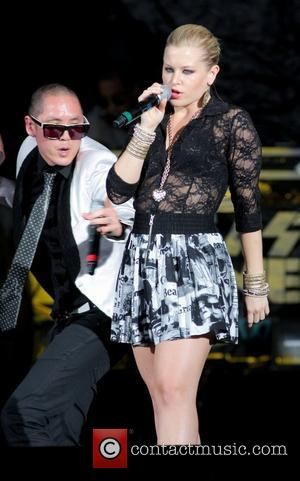 Dev and Far East Movement  performs during the I am Still Music Tour at the Cruzan Amphitheatre  West...