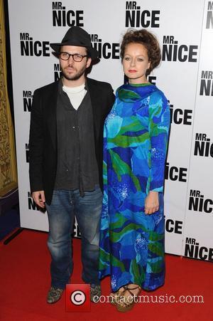 Samantha Morton and guest The UK film premiere of 'Mr Nice', held at the Cineworld Cinemas, Haymarket. London, England -...