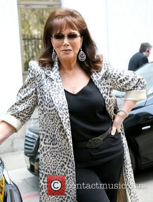 Jackie Collins outside the ITV studios London, England – 18.04.11