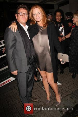 Sid Owen and Patsy Palmer 'Michael Jackson: The Life of an Icon' film premiere after party at the Connaught Rooms...