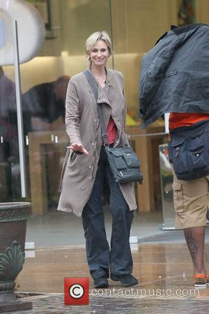 Jane Lynch and Glee