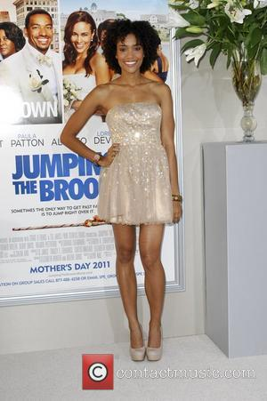 Annie Ilonzeh  Los Angeles premiere of 'Jumping The Broom' held at the ArcLight Cinema in Hollywood Los Angeles, California...