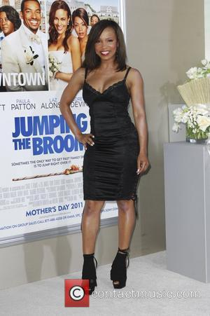 Tracey Edmonds  Los Angeles premiere of 'Jumping The Broom' held at the ArcLight Cinema in Hollywood Los Angeles, California...