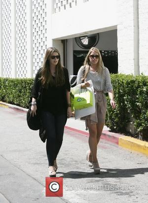 Katherine Schwarzenegger and a friend out and about beverly Hills, California - 15.06.11