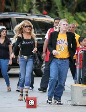 Dyan Cannon  Celebrities arrive at The Staples Center for Game 2 of the NBA Western Conference Semi-Finals between LA...
