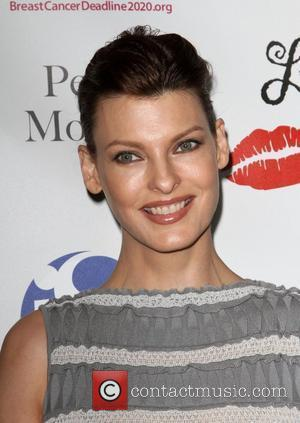 Linda Evangelista Les Girls Enticing 11th Annual Cabaret Event  - arrivals held at Avalon Hollywood, California - 17.10.11