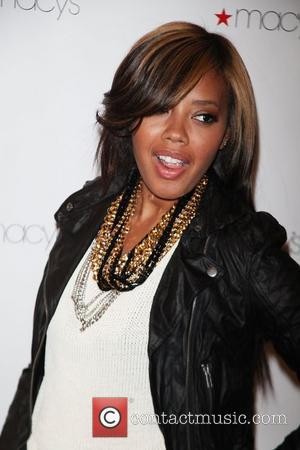Angela Simmons  The Macys bar III Brand and Pop Up store launch New York City, USA - 09.02.11
