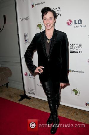Johnny Weir  Marc Bouwer 3D Fashion Film Presentation - Arrivals  New York City, USA - 13.2.2011