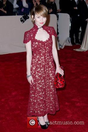 Emily Browning Alexander McQueen: Savage Beauty' Costume Institute Gala at The Metropolitan Museum of Art New York City, USA -...