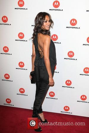 Zoe Saldana  the DROID RAZR by Motorola and MOTOACTV launch event at SIR Stage 37 - arrivals New York...
