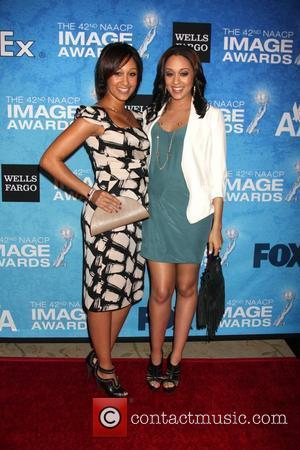 Tamara and Tia Mowry The 2011 NAACP Image Awards Nominee Reception at the Beverly Hills Hotel Los Angeles, California -...