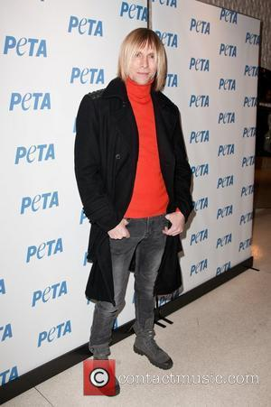 Marc Bouwer   the PETA New York Fashion Week Party at the Stella McCartney Shop New York City, USA...