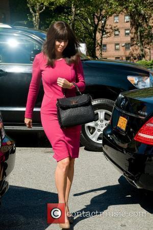 Jamie Lynn Sigler Mercedes-Benz New York Fashion Week Spring/Summer 2012 - Project Runway - Celebrities Around Lincoln Center New York...