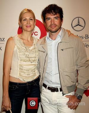Kelly Rutherford and Matthew Settle Mercedes-Benz New York Fashion Week Spring/Summer 2012 - QVC's Live - Runway Show and Cocktail...