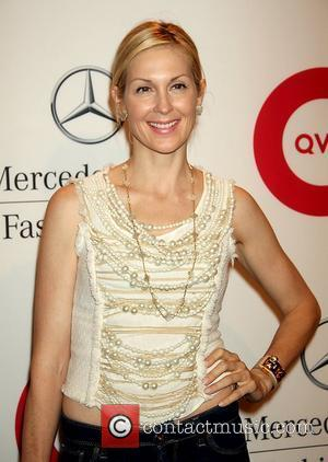 Kelly Rutherford  Mercedes-Benz New York Fashion Week Spring/Summer 2012 - QVC's Live - Runway Show and Cocktail Party...