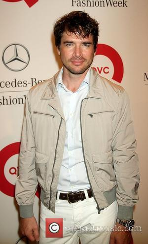 Matthew Settle Mercedes-Benz New York Fashion Week Spring/Summer 2012 - QVC's Live - Runway Show and Cocktail Party  New...