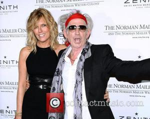 Patti Hansen and Keith Richards the 3rd Annual Norman Mailer Center Gala at the Mandarin Oriental Hotel. New York City,...