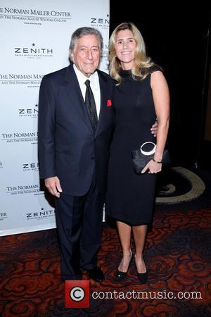 Tony Bennett and Susan Bennett  the 3rd Annual Norman Mailer Center Gala at the Mandarin Oriental Hotel. New York...
