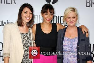 Aubrey Plaza, Amy Poehler and Rashida Jones