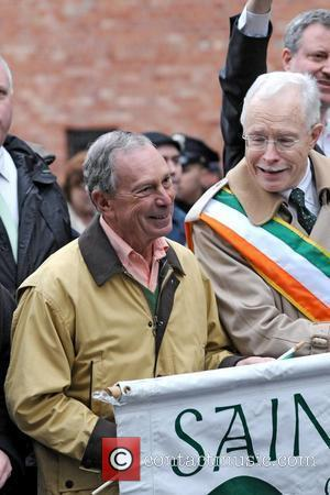 Mayor Michael Bloomberg 2011 St. Patrick's Day Parade, Sunnyside, Queens New York City, USA - 06.03.11