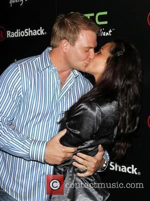 Melissa Rycroft and her husband Tye Strickland Radioshack's HTC EVO 3D Launch Party Held At The RadioShack Pop-Up 3D Lounge...