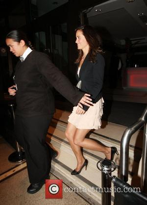 Pippa Middleton leaving a party hosted by Richard Branson at the Kensington Roof Gardens London, England - 21.04.11