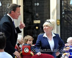David Cameron and Barbara Windsor