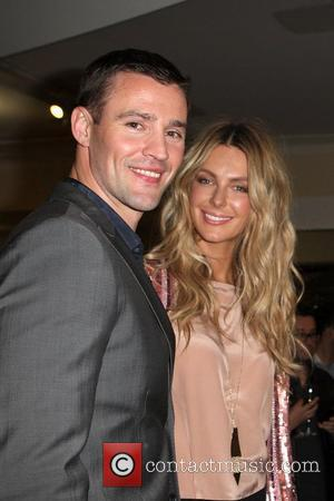 Jennifer Hawkins and Kris Smith make an in store appearance at the Myer department store as part of Mercedes Benz...