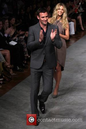 Jennifer Hawkins and Kris Smith The Myer department store Spring/Summer 2011/2012 season launch on Day Three of Mercedes Benz Fashion...