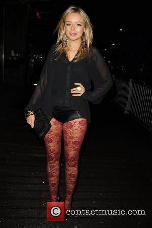 Sacha Parkinson arrives at Sukura to celebrate her Birthday with friends Manchester, England - 10.03.11