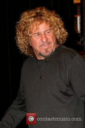 Sammy Hagar  book signing session for his latest book 'RED' at Chapters Festival Hall.  Toronto, Canada - 13.03.11