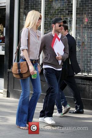 Matthew Vaughn and Claudia Schiffer