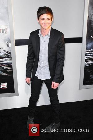 Logan Lerman Los Angeles Premiere of 'Source Code' held at the Arclight Cinerama Dome - Arrivals Los Angeles, California -...